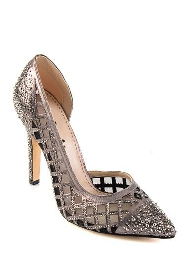 Bambi Topuklu Ayakkabı Gümüş